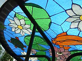 Koi Pond - Pattern News - Stained Glass Town Square
